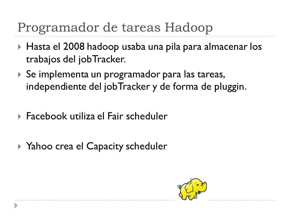 Programador de tareas Hadoop
