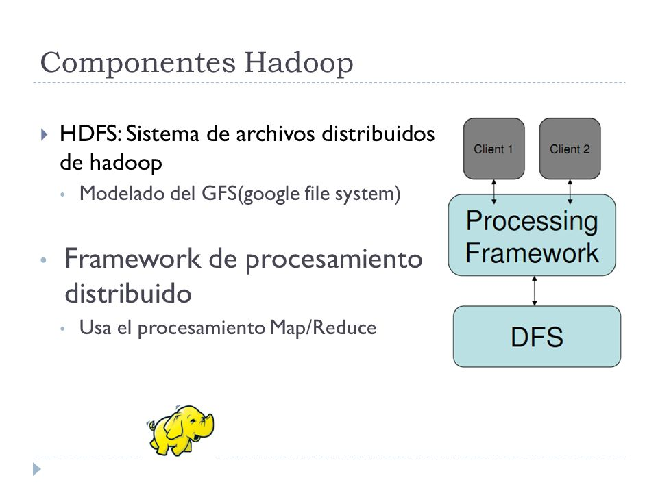 Framework de procesamiento distribuido
