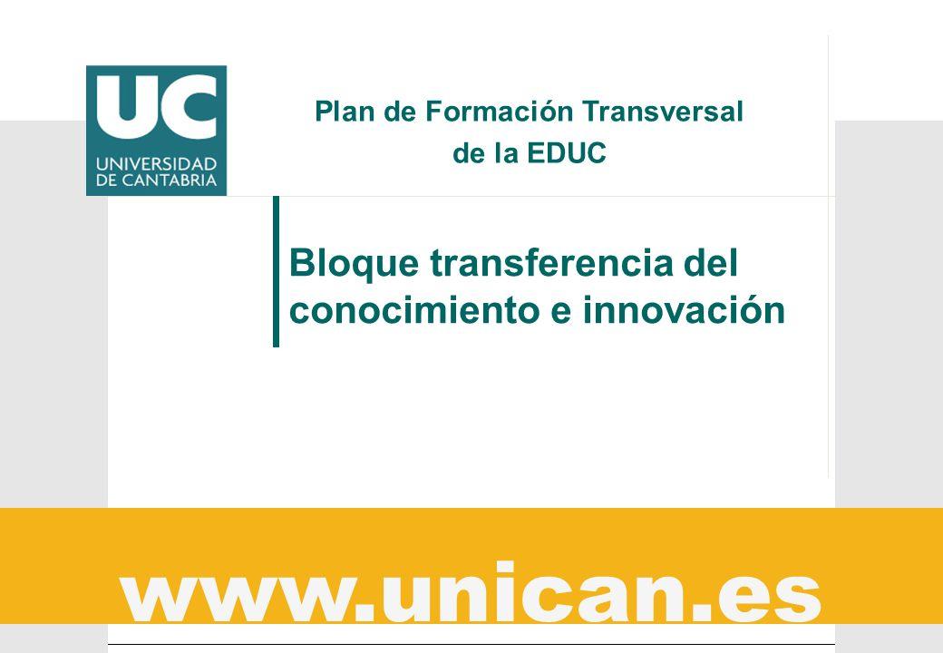 Plan de Formación Transversal