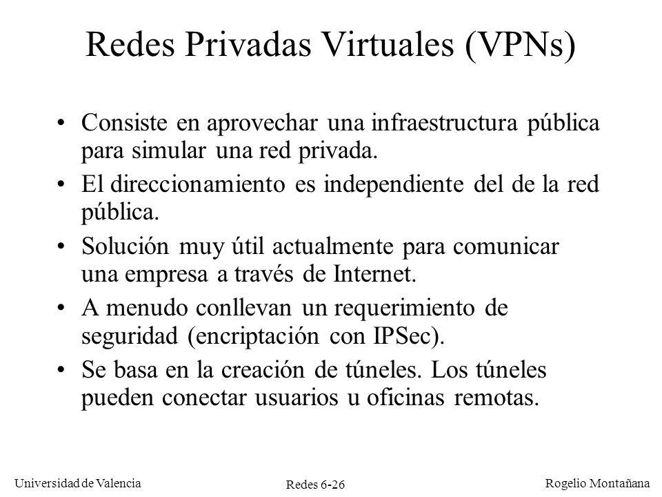Redes Privadas Virtuales (VPNs)