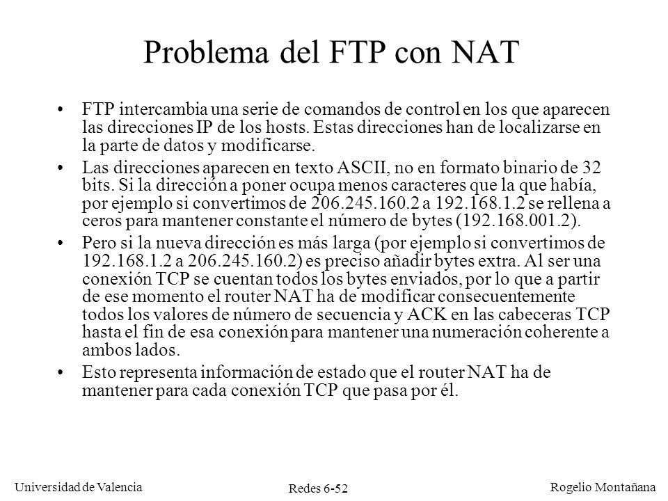 Problema del FTP con NAT