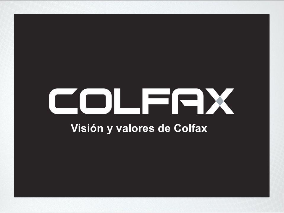 Visión y valores de Colfax