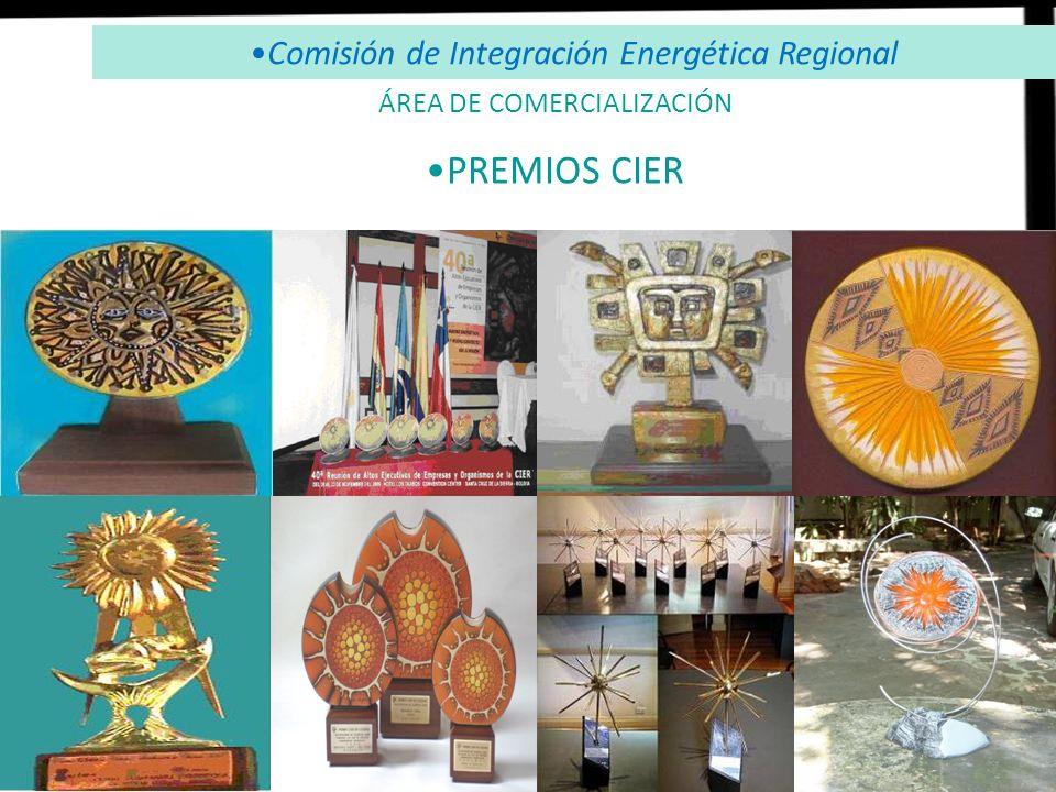 PREMIOS CIER Comisión de Integración Energética Regional