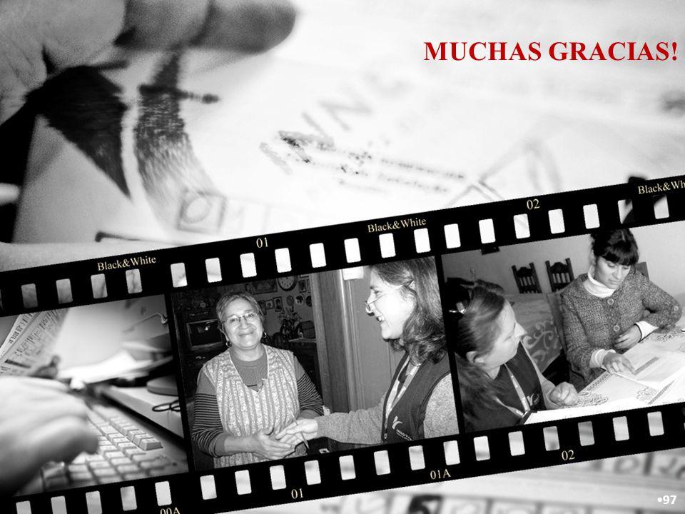 MUCHAS GRACIAS! 97
