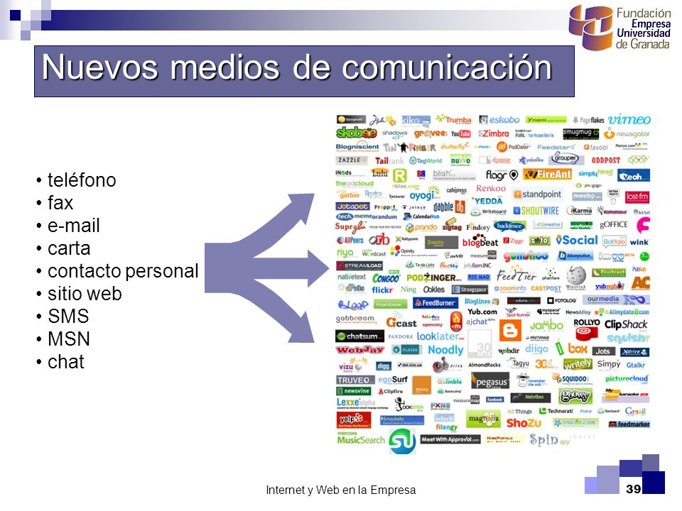 Internet y Web en la Empresa