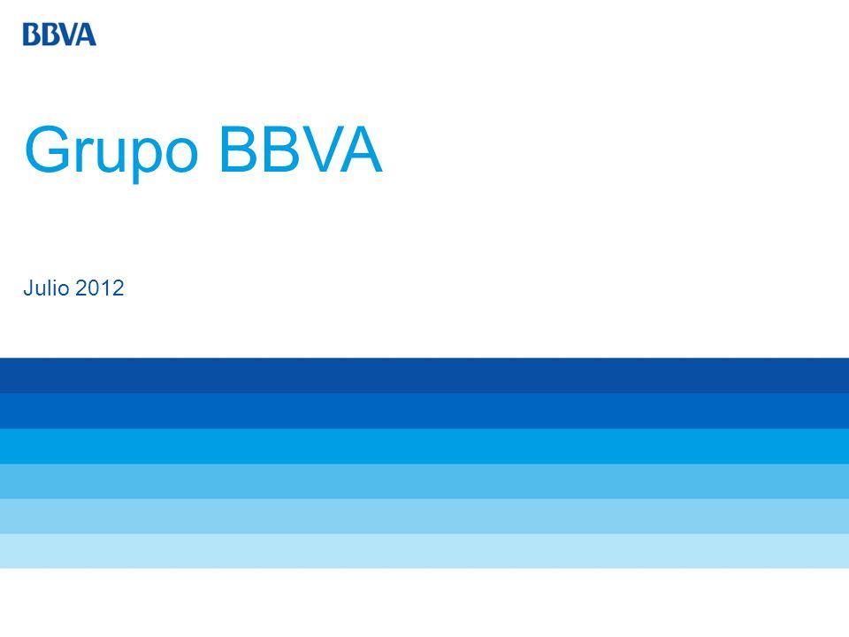 Grupo BBVA Julio 2012