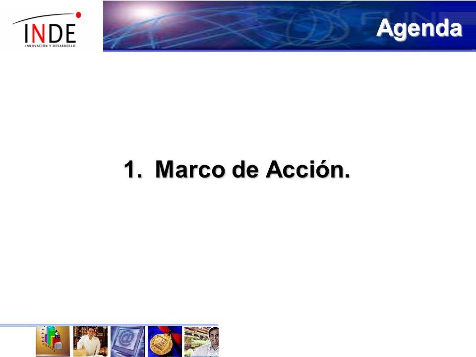 Agenda Marco de Acción.