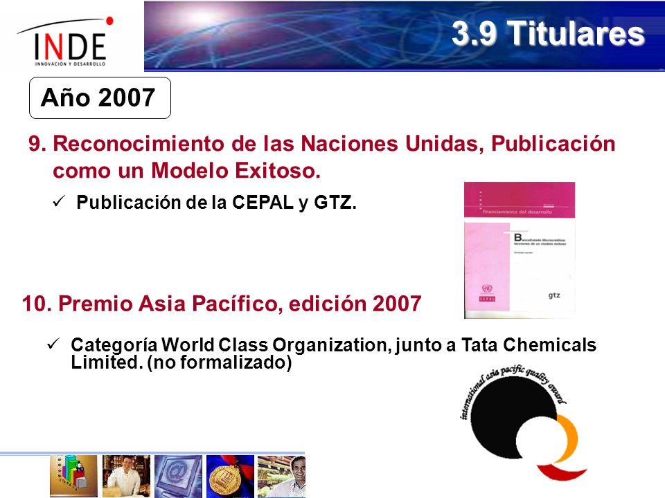 10. Premio Asia Pacífico, edición 2007