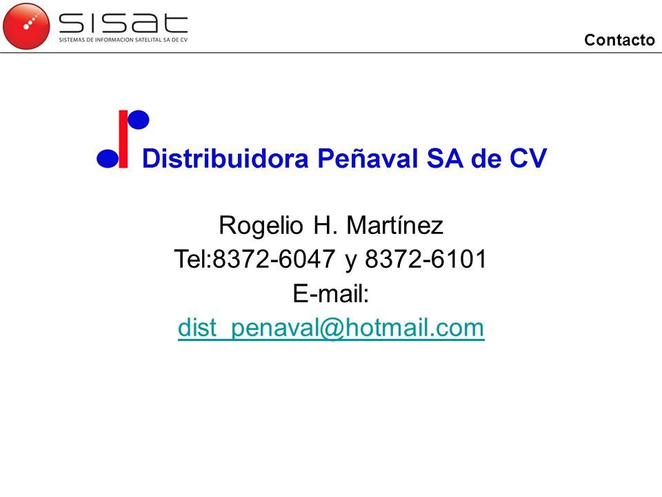 Rogelio H. Martínez Tel:8372-6047 y 8372-6101 E-mail: