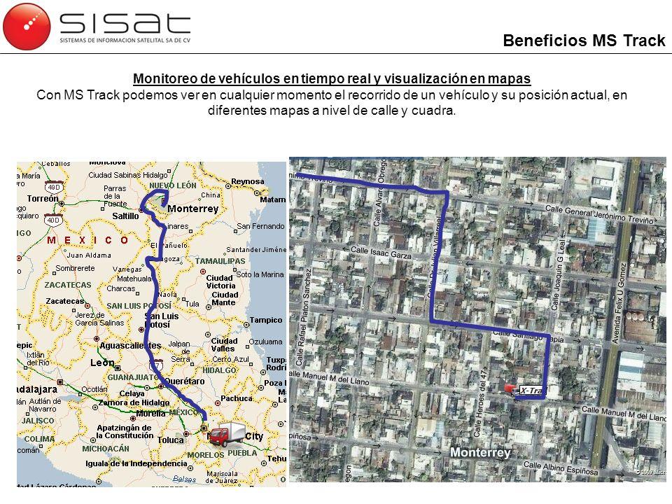 Monitoreo de vehículos en tiempo real y visualización en mapas