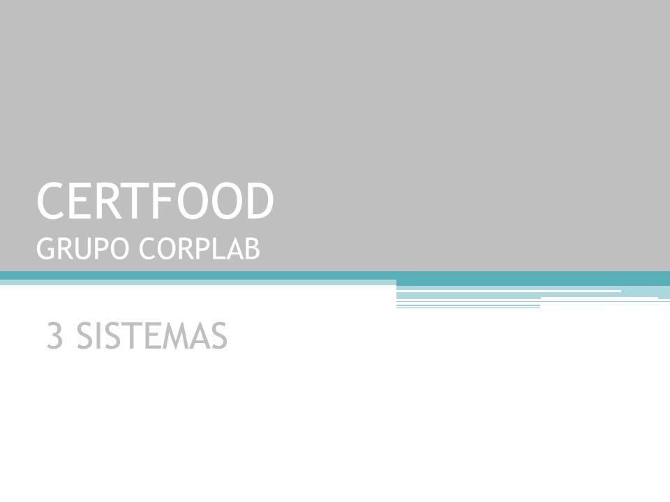 CERTFOOD GRUPO CORPLAB
