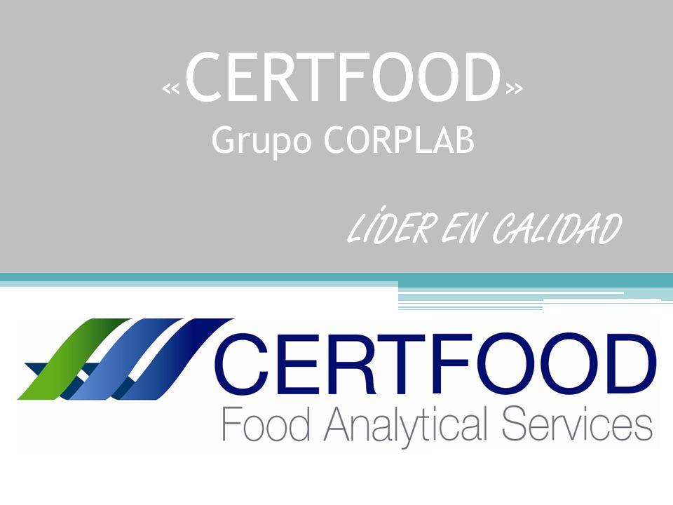 «CERTFOOD» Grupo CORPLAB