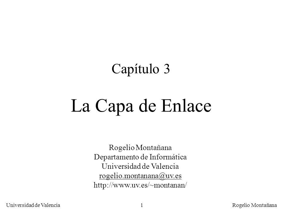 Capítulo 3 La Capa de Enlace