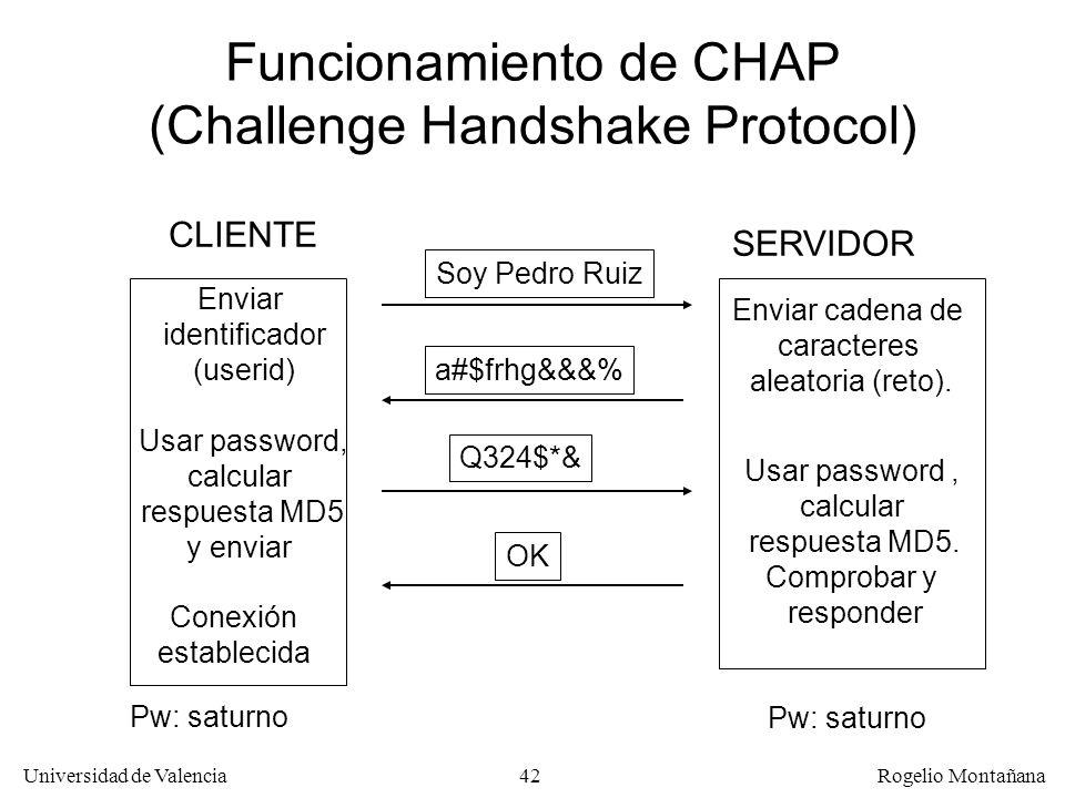 Funcionamiento de CHAP (Challenge Handshake Protocol)