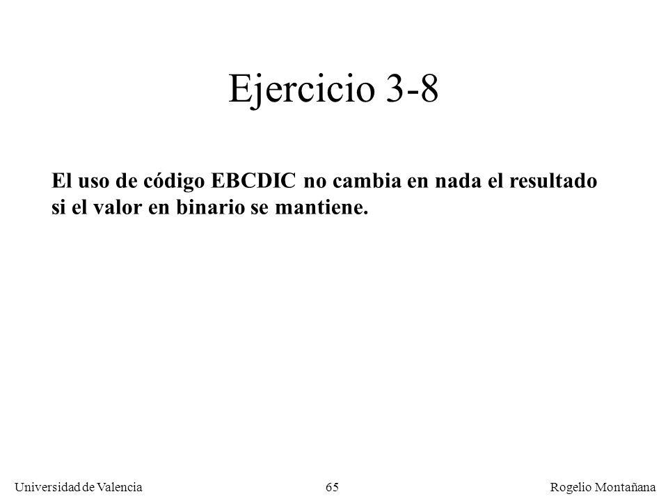 La Capa de Enlace Ejercicio 3-8.