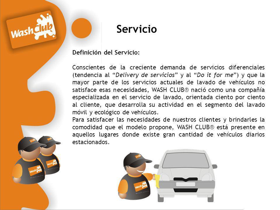 Servicio Definición del Servicio: