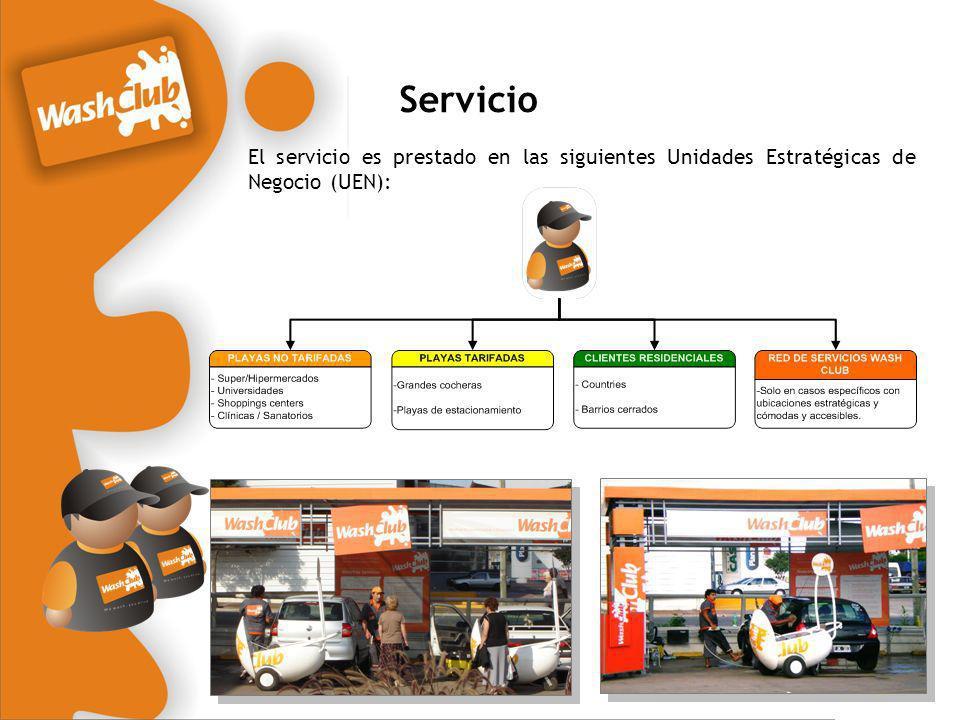 Servicio El servicio es prestado en las siguientes Unidades Estratégicas de Negocio (UEN):