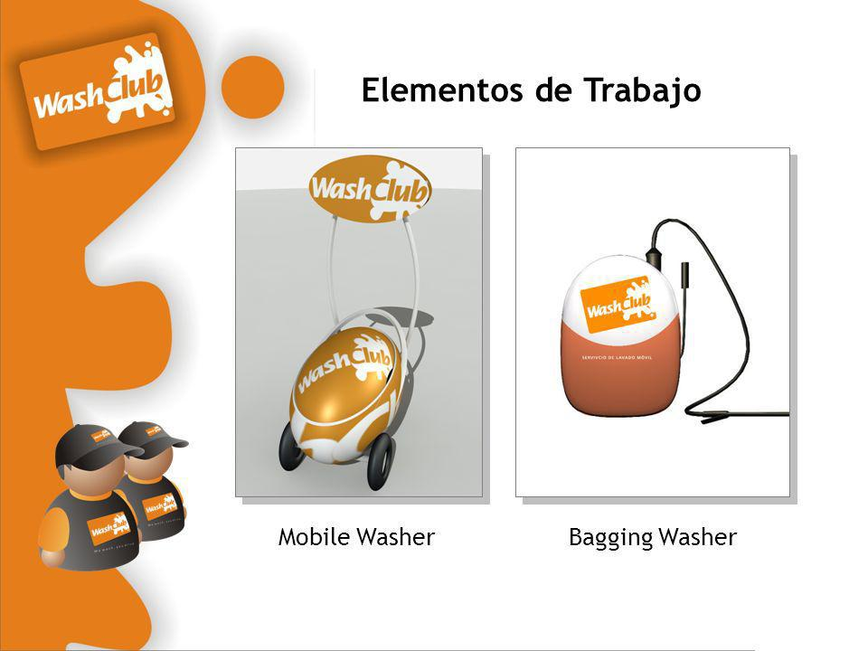 Elementos de Trabajo Mobile Washer Bagging Washer