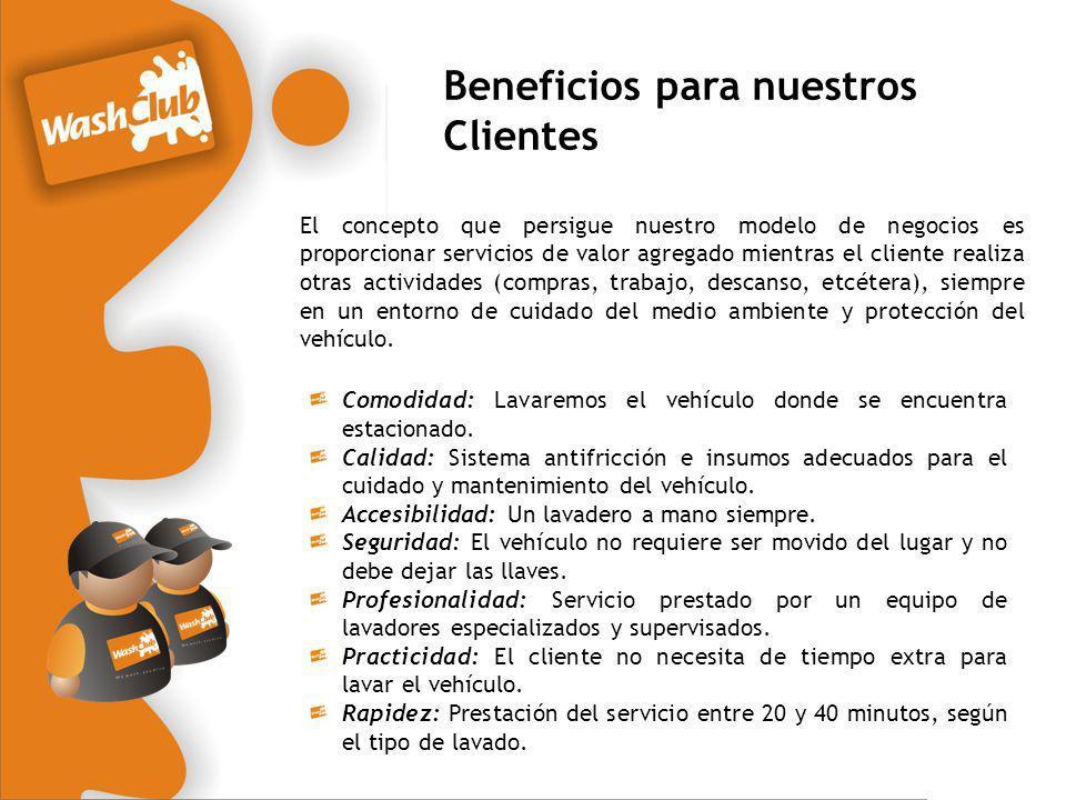 Beneficios para nuestros Clientes