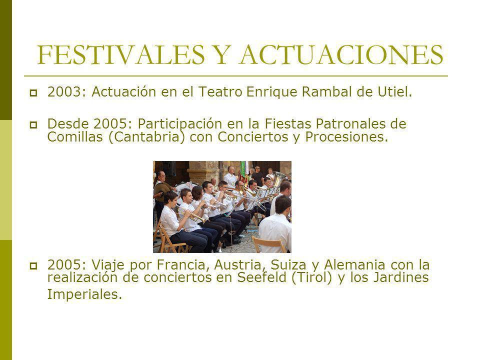 FESTIVALES Y ACTUACIONES