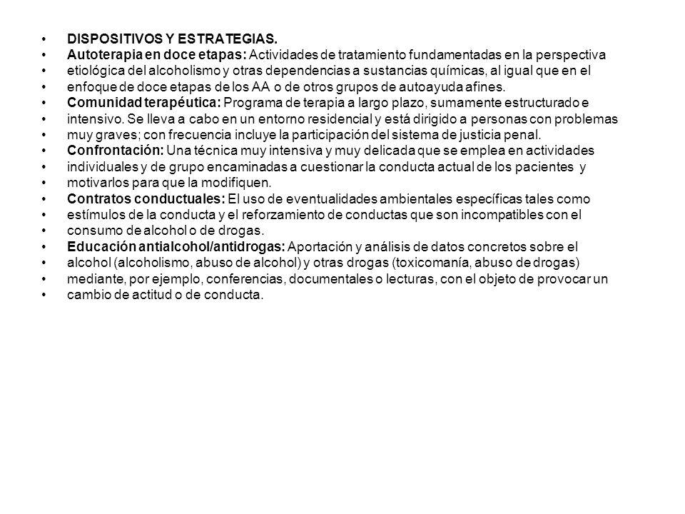 DISPOSITIVOS Y ESTRATEGIAS.