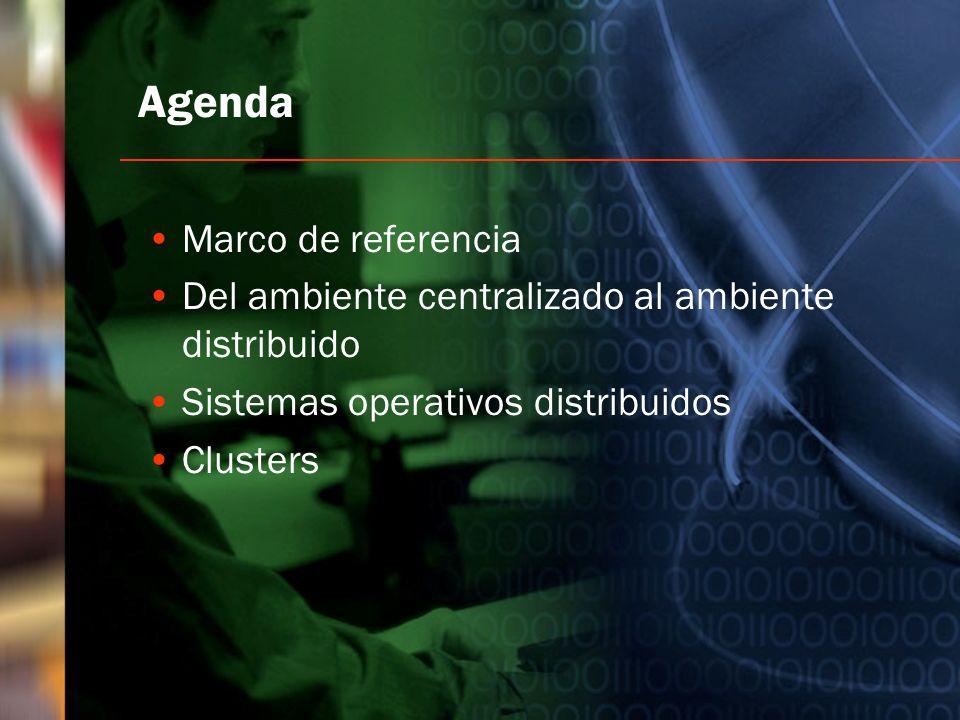 Agenda Marco de referencia