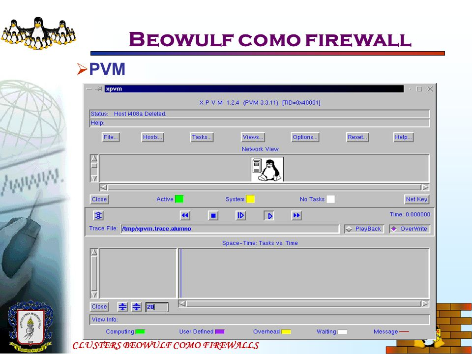 Beowulf como firewall PVM