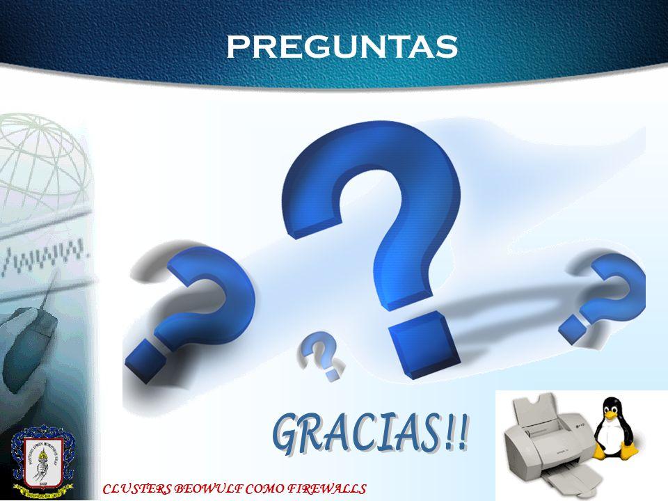 PREGUNTAS GRACIAS!!
