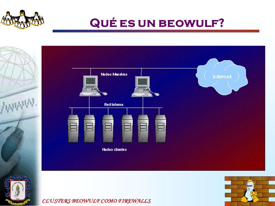 Qué es un beowulf