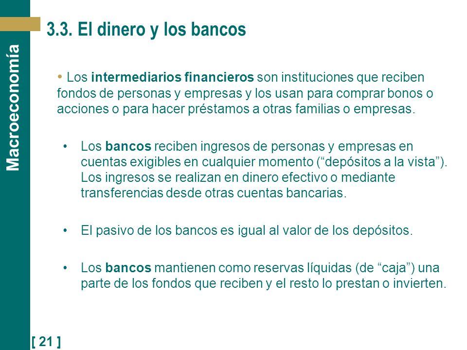 3.3. El dinero y los bancos