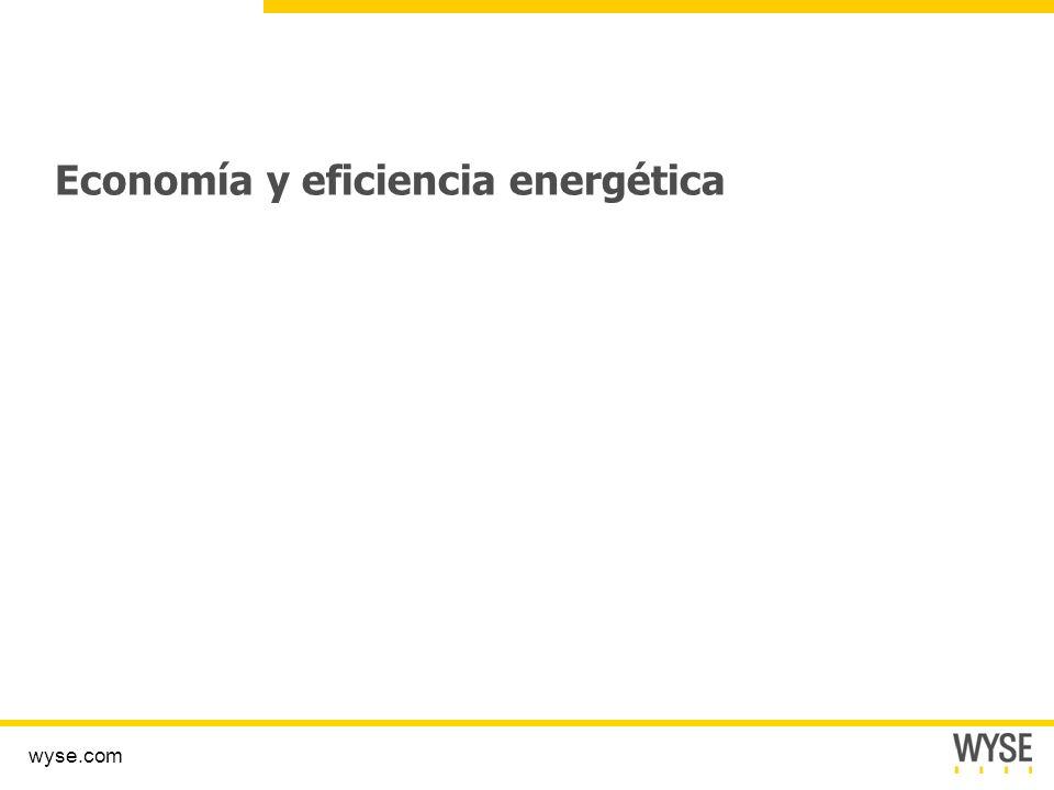 Economía y eficiencia energética