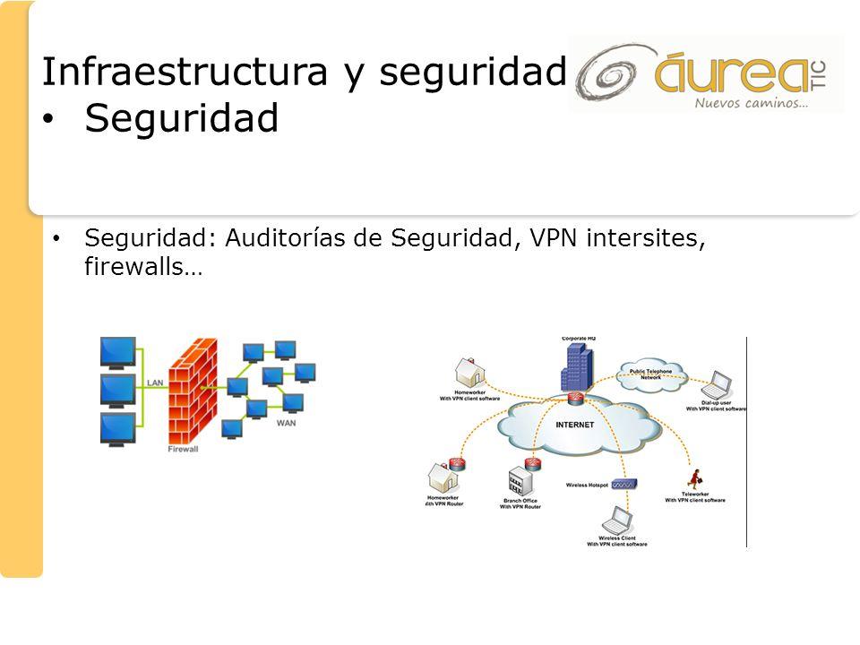 Infraestructura y seguridad Seguridad