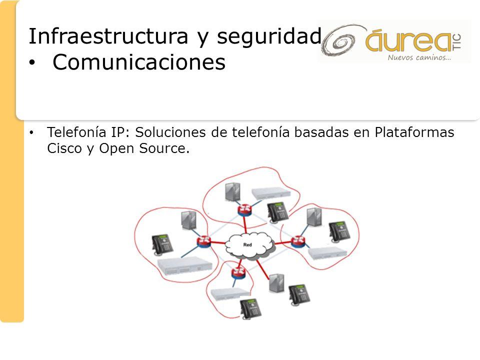 Infraestructura y seguridad Comunicaciones