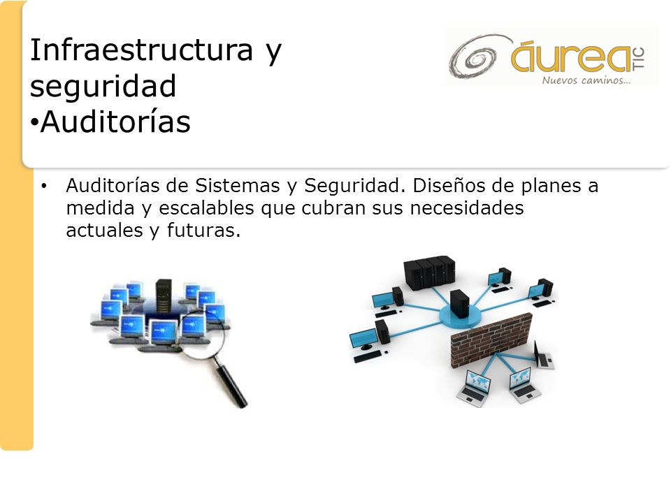 Infraestructura y seguridad Auditorías