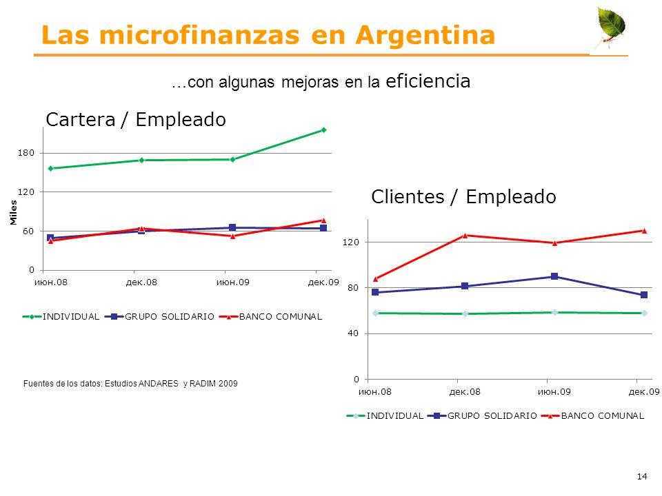 Las microfinanzas en Argentina