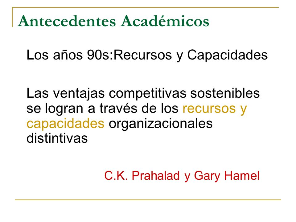 Antecedentes Académicos