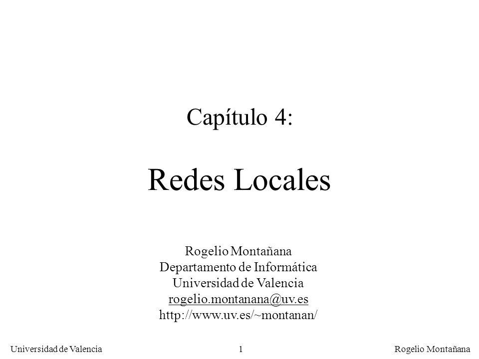 Capítulo 4: Redes Locales
