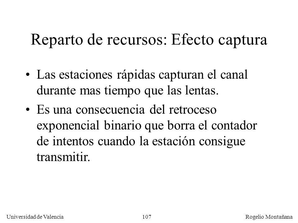 Reparto de recursos: Efecto captura