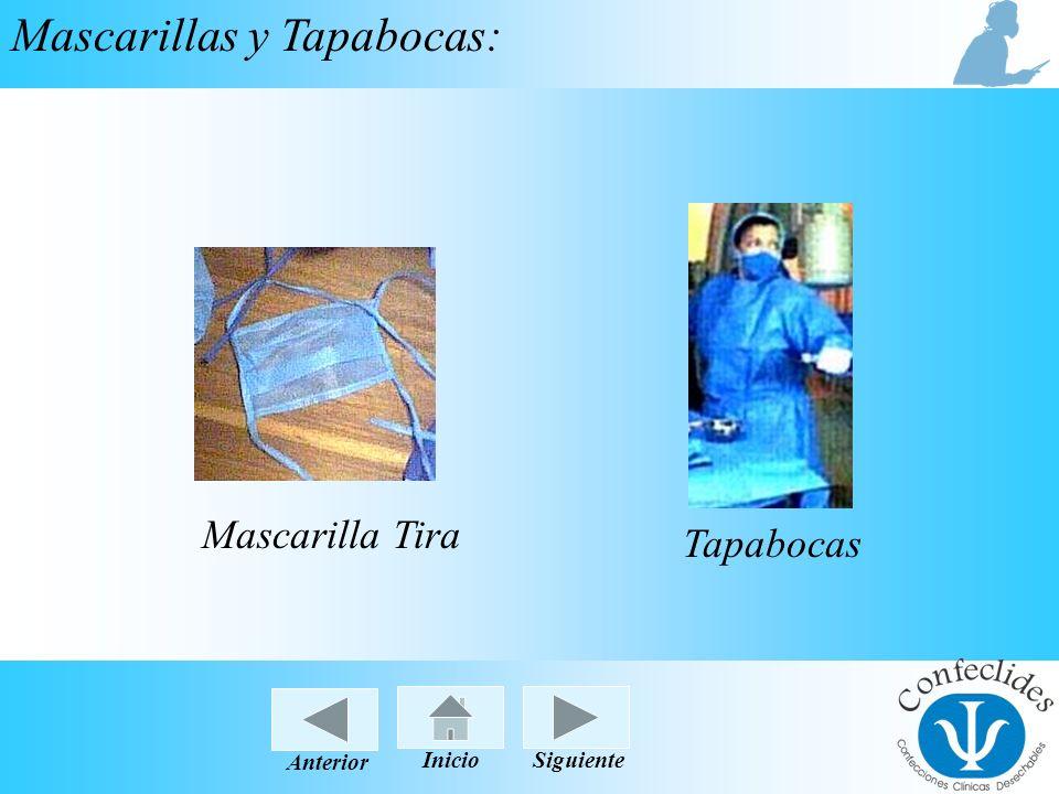 Mascarillas y Tapabocas: