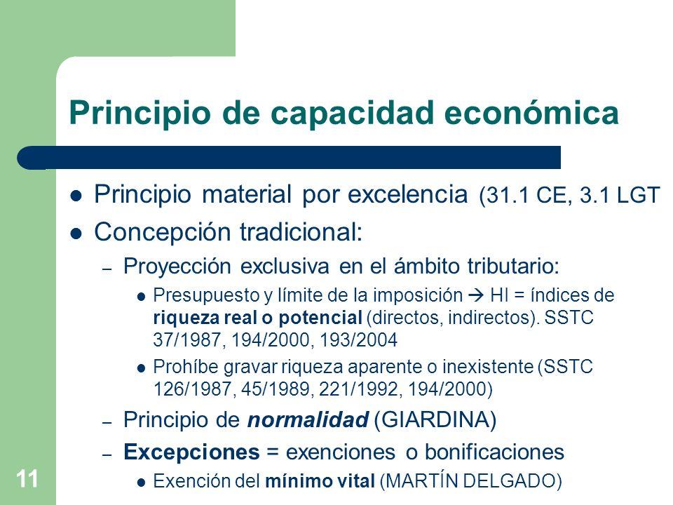Principio de capacidad económica