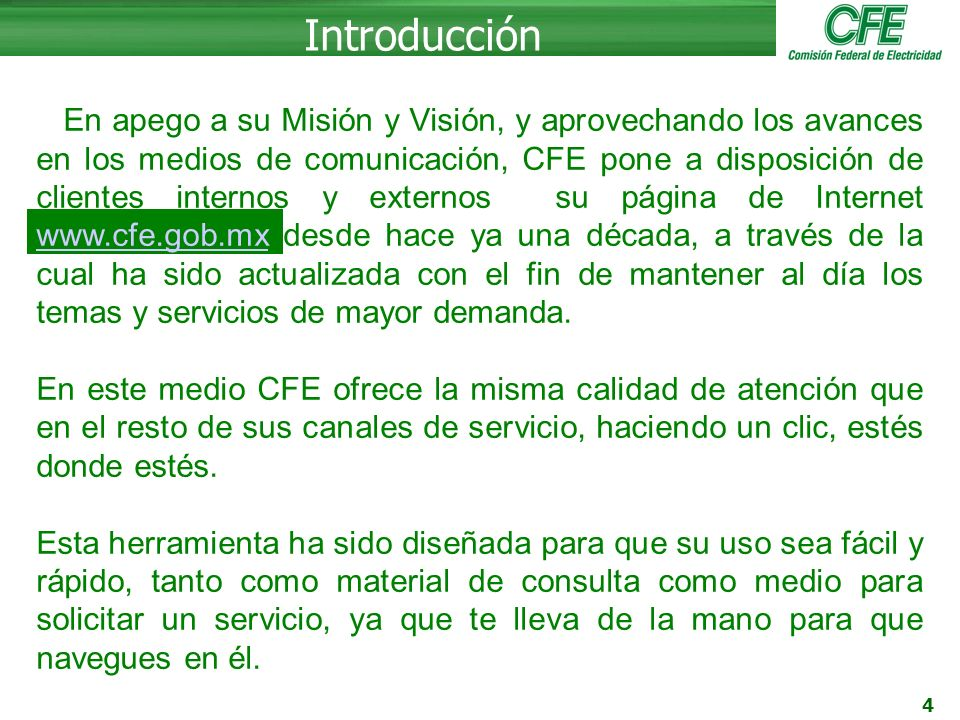 Manual Del Portal De Cfe Ppt Video Online Descargar