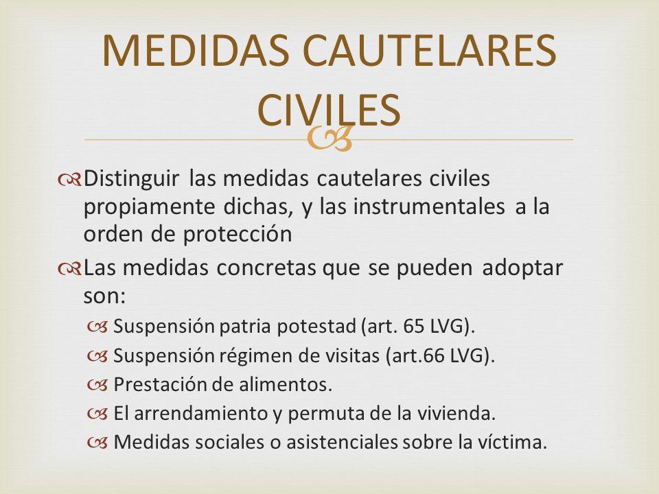 MEDIDAS CAUTELARES CIVILES
