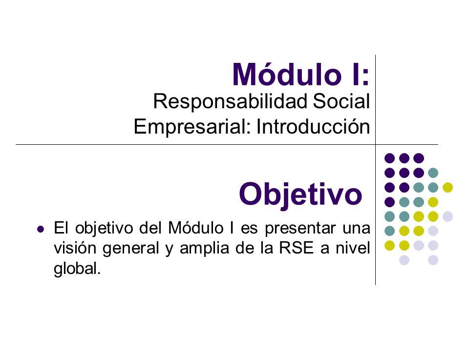 Responsabilidad Social Empresarial: Introducción