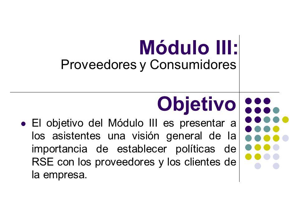 Proveedores y Consumidores