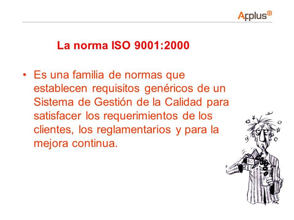 La norma ISO 9001:2000