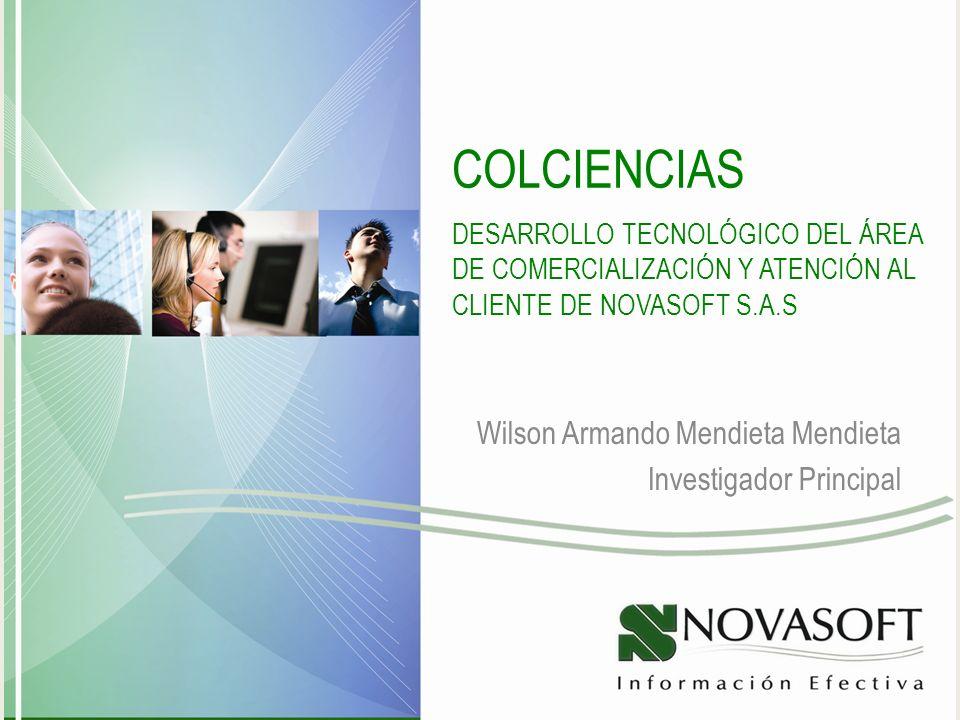 Wilson Armando Mendieta Mendieta Investigador Principal