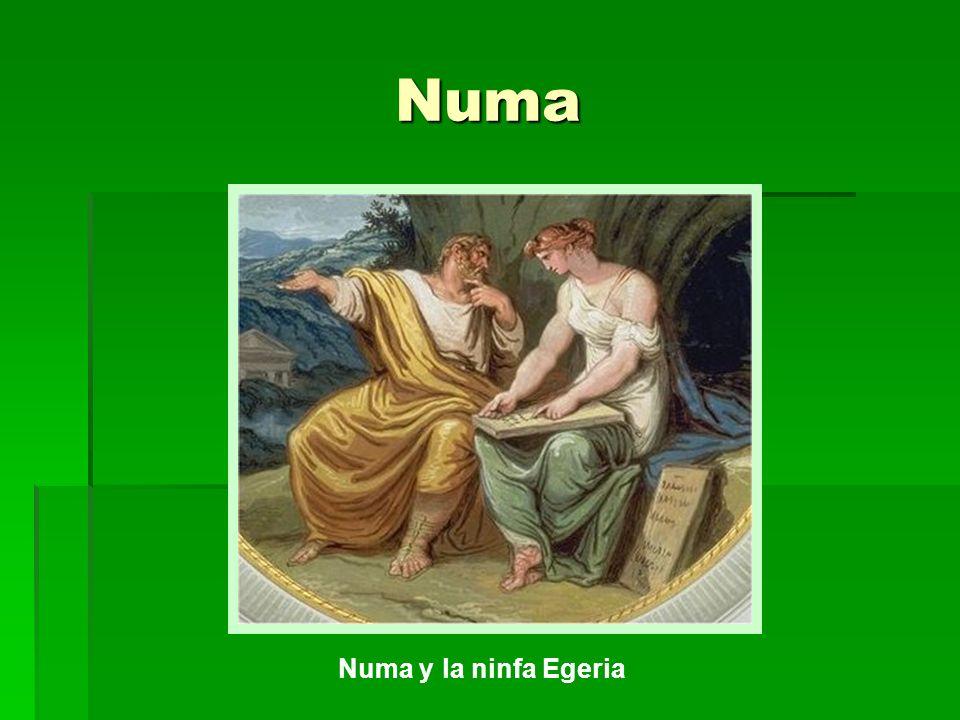 Numa Numa y la ninfa Egeria