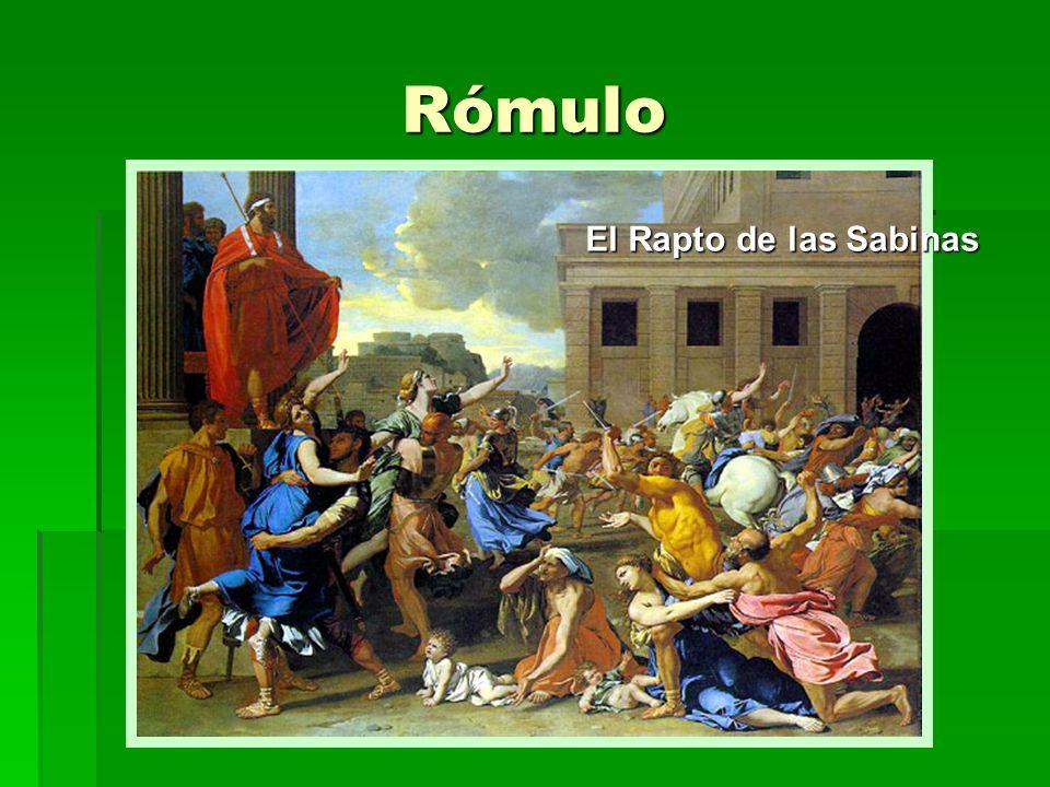 Rómulo El Rapto de las Sabinas