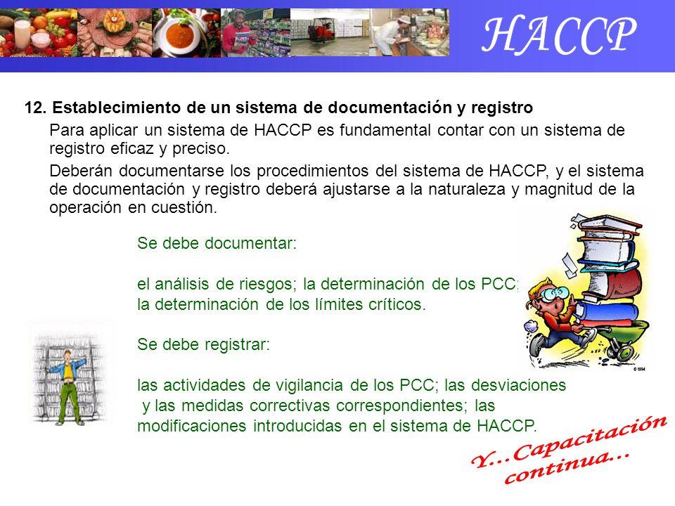 HACCP Y...Capacitación continua...