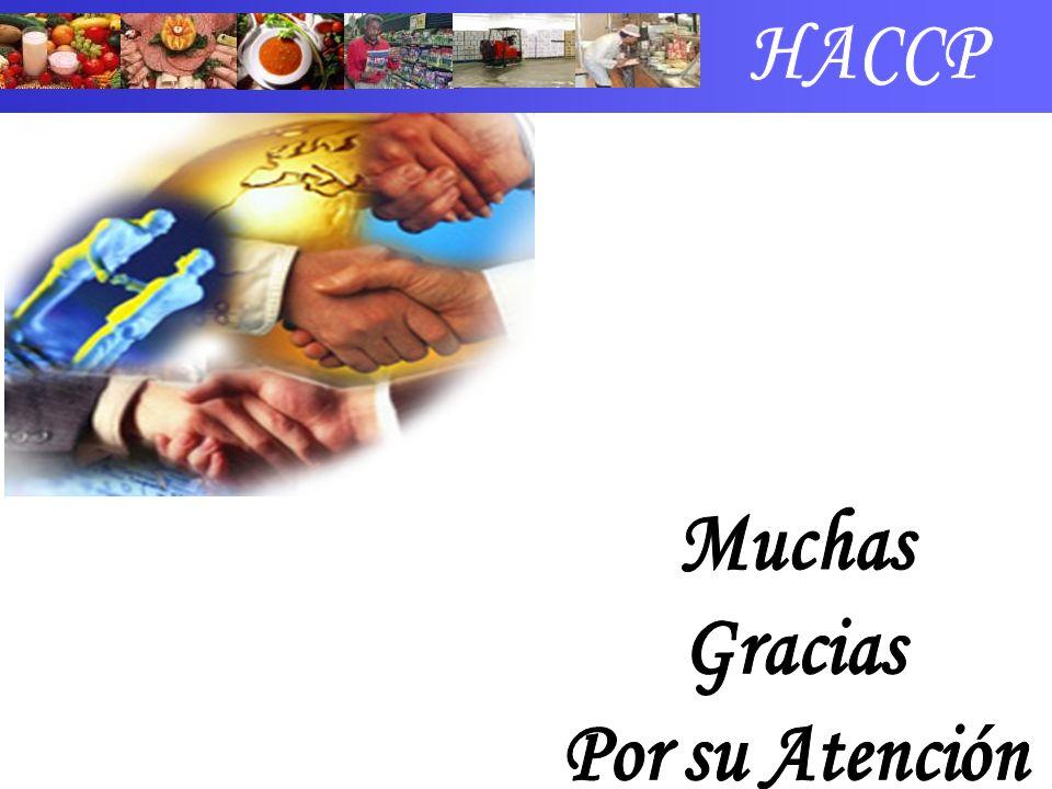 HACCP Muchas Gracias Por su Atención